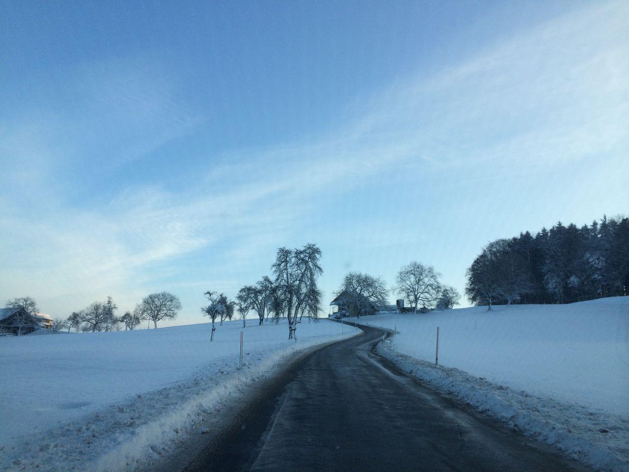 Winterlandschaft Islisberg